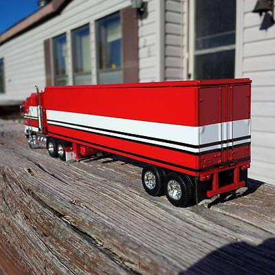 "1/64th scale custom Dcp vintage 40ft reefer Bj and the Bear ""TRAILER ONLY"""