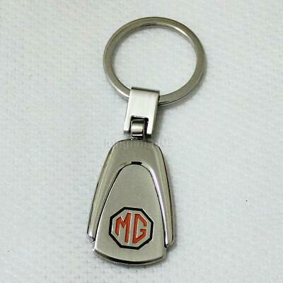 Keyring Alloy Metal Car Keychain Keyfob key ring chain For MG MGF MGB MGFT #32