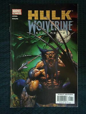 Marvel Comics 2003 Vol 1 #1 OF 4  HULK  WOLVERINE - Six Hours