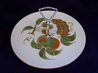 Stangl, hand painted and signed, Orchard Song serving dish