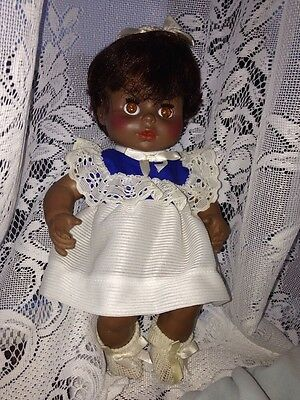 Horseman Vintage African American Doll  1970s All Orig Clothes Drink & wet