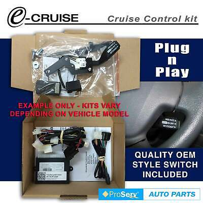Cruise Control Kit Toyota Corolla AUTO SEP/2007-ON (With Stalk control switch)