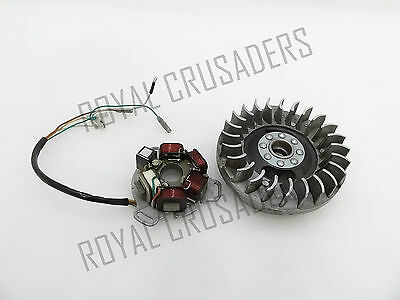 New Lambretta Li Flywheel/magneto Stator Assembly Sil