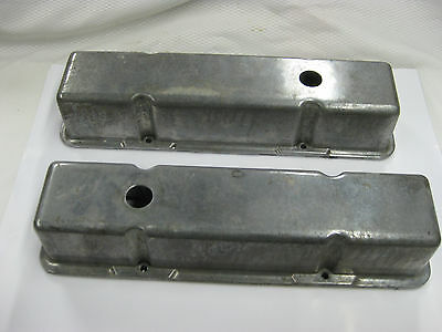 Vintage Chevy Small Block 350 Valve Covers