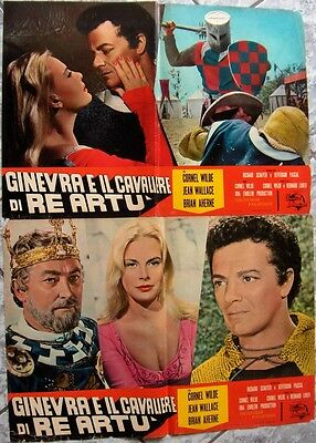 Lotto 8fb GINEVRA CAVALIERE RE ARTU Lancelot Guinevere Sword og Italy 1963