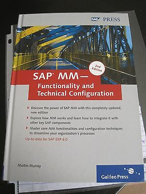 SAP MM--Functionality and Technical Configuration by Martin Murray (2007,...