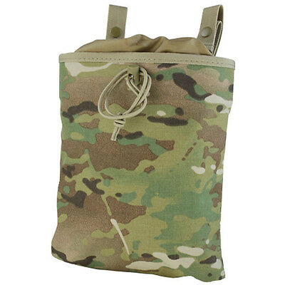 CONDOR MA22 Tactical MOLLE PALS Roll Up Magazine Mag Drop Dump Pouch Multicam