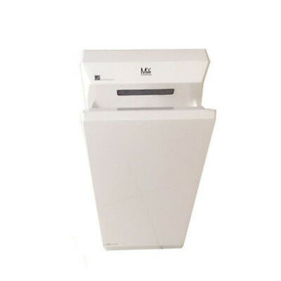Automatic Hand Dryer Wall Mounted White Commercial for Bathroom