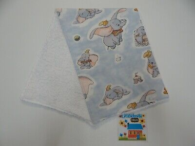 Dumbo Burp Cloth - 1 Only Toweling Back GREAT GIFT IDEA!!