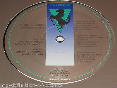 Jaydee / Second Phase, In Order To Dance Remix Sampler Vol. 2 (R&S Records 0804)