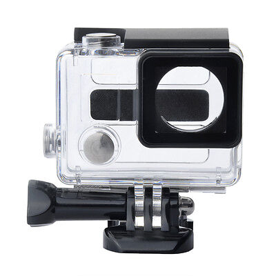 Side Open Skeleton Protective Housing Case Cover + Mount for GoPro HD Hero 4 Cam