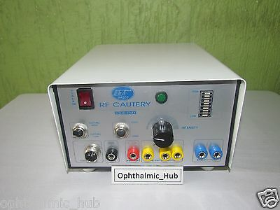 Radio Frequency Cautery 2MHz for Ophthalmic complete with Standard Accessories