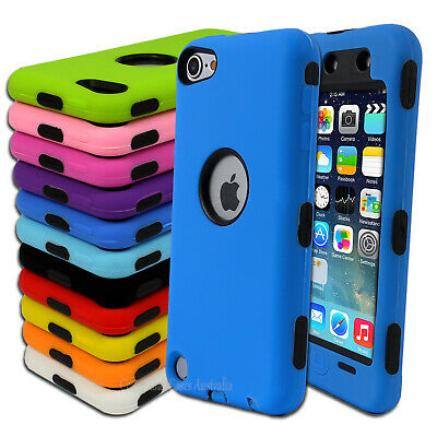 Heavy Duty Cover for Apple iPod Touch 5 5th Gen 5G Protective Case
