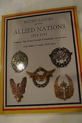 WW1 Flight Badges Allied Nations French Russian Romanian Reference Book