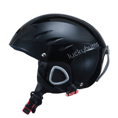 New Lucky Bums Adult Ski/snowboard Helmet..free Shipping In The Usa!!