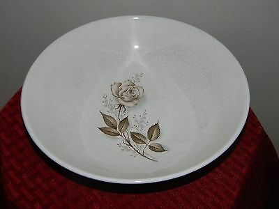 RARE Vintage MCCOY Large Serving Mixing BOWL Cookware Dinnerware DISH w/ Rose