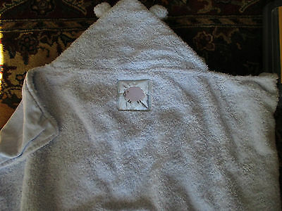Soft Blue Baby Hooded Blanket/Towel NWT Baby Gift