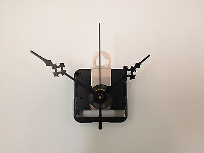 """Seiko Quartz Clock Movement Mechanism Kit for Dials Up to 1/4"""" with 3"""" hands, -D"""