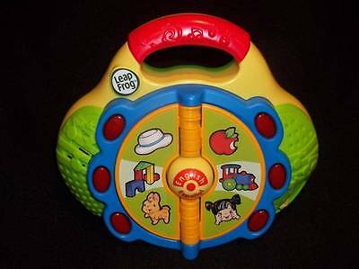 FANTASTIC LeapFrog Baby LEARN & Groove FIRST Words RADIO