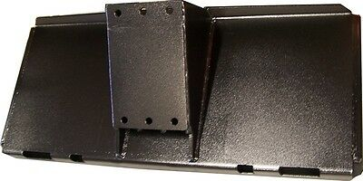 Skid Steer Plate - Universal Angled Mount - Fits Bobcat and More! Eterra Brand