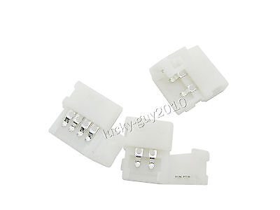 20pcs 4 pines/2 pines Conector Union Small Clip for 2 SMD 5050 3528 LED Strips