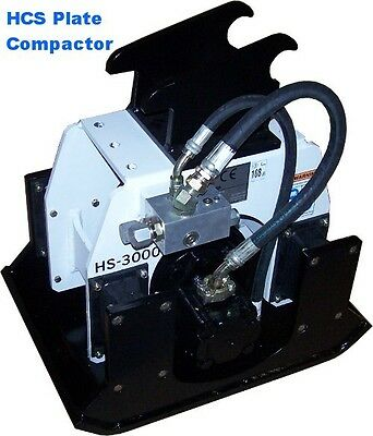 Skid Steer Backhoe Attachment - Compactor Accessory - E70 Backhoe Compactor