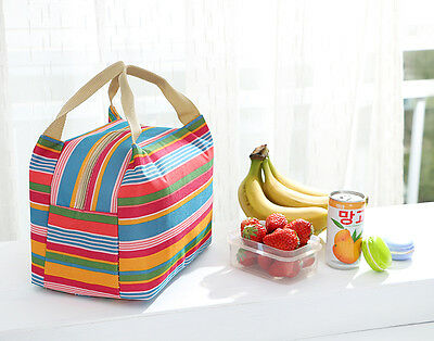 Flower  Insulated Tote Thermal Bag Lunch Bag/Lunch Box/Picnic Bag