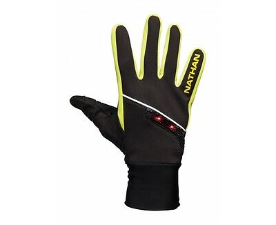 Nathan Running Jogging Walking cycling Speedshift Gloves USB Rechargeable