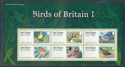 Great Britain 2001-10  set 4 Post & Go Birds series 1 to 4 packs (2014/1128/#05)