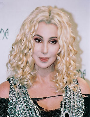 ** CHER  Gorgeous Blonde  8 x 10 Color  Photo--  A Must-Have! For Serious Fan**
