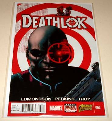 DEATHLOK # 2  Marvel Comic  Jan 2015  NM