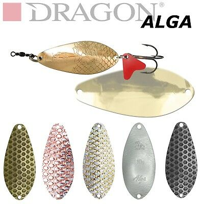 Spoon Lure ALGA 10 - 24g Dragon Made in Poland Pike fishing Tackle Abu Jig Toby