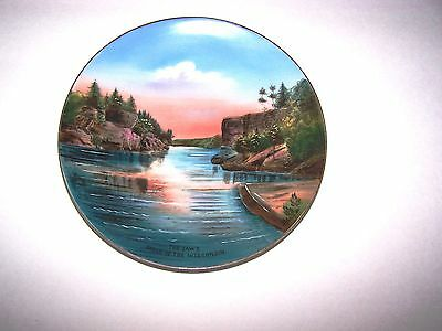 Old Souvenir Plate from Kilbourn (Now Wisconsin Dells)