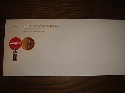 Coca-Cola Bottling Company 1950's 50th anniversary envelope - 65 years old