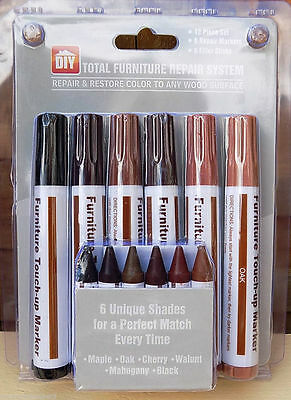 Guitare//bass/cello Scratch And Chip Colour Repair System,12 Piece Kit.uk Seller