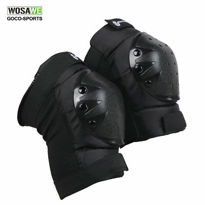 NEW Pair Motorcycle Racing Motocross Knee Pads Protector Guards Protective Gear