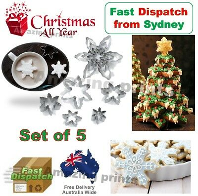 Baking Metal Christmas Snowflake Gingerbread Biscuit Pastry Cookie Cutter mould
