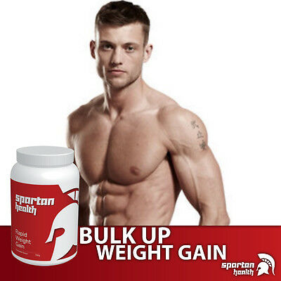 Spartan Health Weight Gain Powder Quality Calories Bulk Up Fast Get Big Fast