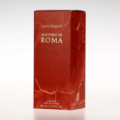 Laura Biagiotti Mistero ★ di Roma Donna Body Lotion 150ml Neu&OVP