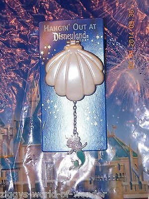 Disney Pin Little Mermaid Ariel Shell Annual Passholder 2014 Hanging LE