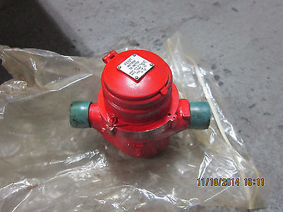 Kent   Oil Gallon Counter 3/4 In Flow Meter-  Used