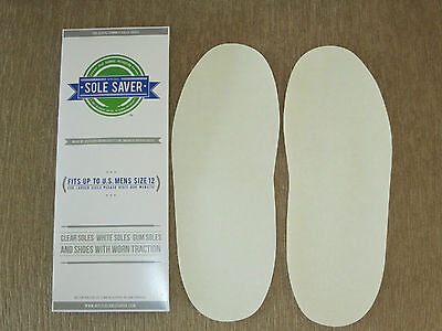 NEW * Official Sole Saver * Save your Sneaker Soles! Fits up to Men Shoe Size 12