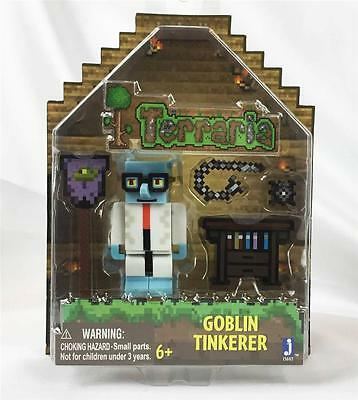 TERRARIA Video Game GOBLIN TINKERER Action Figure Toy Set By Jazwares IN STOCK