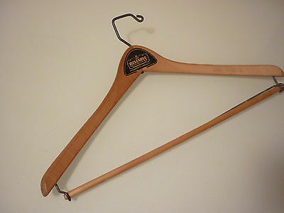 Vintage Antique Clothes Hanger Advertizing Ad - Reliable - Wood Wire