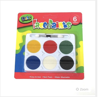 XMAS GIFT 2 Packs Kids Face Paints 6 Colours In Each Free Post Fast Delivery.!!