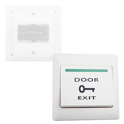 Wall Mount Door Exit push Button Push Release Switch For Door Access Controller