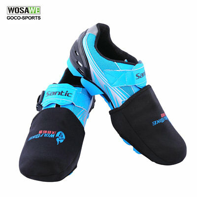WOLFBIKE Cycling Shoes Shoe Toe Cover Warmer Protector Black 1 Pair