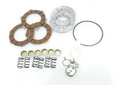 New Vespa Vbb/px150/p150/px125 Clutch Plate Kit For 6 Springs #vp121 @justroyal