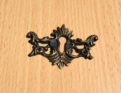 Keyhole Cover Cast Brass Aged • CAD $9.38