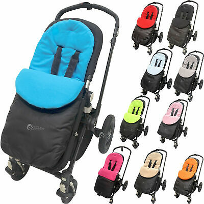 Footmuffcosytoes Compatible With Buggy Puschair Stroller Pram Buggy Baby Toddler
